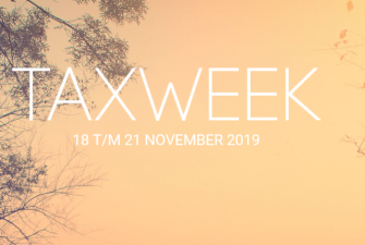 De Taxweek - 20 november 2019